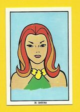 Mighty Mightor Sheera Vintage 1970s Hanna Barbera Cartoon Card from Spain