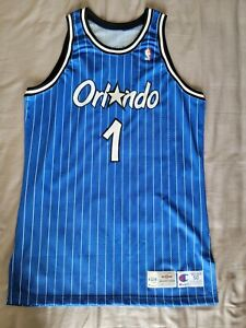 Anfernee Penny Hardaway Authentic Upper Deck Autographed Magic Jersey