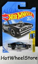 2018  Hot Wheels  Black  King Kuda   Checkmate Series #1   Card #261  HW3-082018