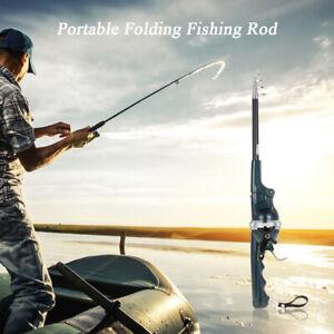 Fishing Rod Reel Lure Spinning Rod Fish Tackle Set Folding Fishing Pesca Rods
