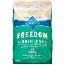 Blue Buffalo Freedom Grain Free Recipe for Dog Lamb Recipe 4 lb