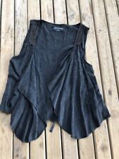 Black Just Jeans Vest. Size M