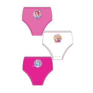 Filles Disney Princesse 3 Paquet Slip Âges 2 - 8 Ans - Choisir Âge