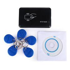 USB 125Khz RFID EM4305 T5567 Card Reader/Writer/Copier Programmer Burner FO