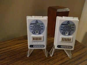 Xbox 360 White Rechargeable Battery Pack Lot Of 2 Nyko Power PAK-TESTED/WORKING!