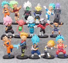 16PCS /Set DragonBall Dragon Ball Torankusu Son Goku PVC Figure Toy Gift