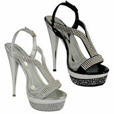 Stiletto Evening Spot On Sandals & Beach Shoes for Women