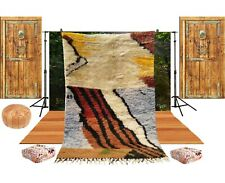 Moroccan Rug Made to order  Azilal Berber Wool Tapiche   Handmade 3 x 5 feet