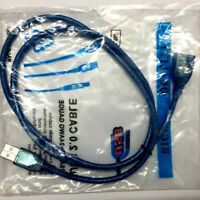 EG _ NEUF bleu 5FT 1.5m USB 2.0 A MÂLE À Femelle Extension rallonge câble