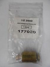"""AAS-prolongation Connecteur Extension vz 2000 177020 35mm à 1/2"""" neuf emballage d'origine"""