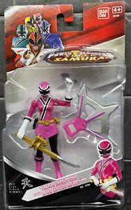 Saban's Power Rangers Super Samurai Pink Sky Figurine Shogun 10cm Bandai NEW