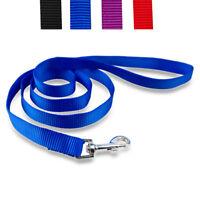 Nylon Dog Leash Cheap Pets Walking Lead Small Large Blue Red Purple Black