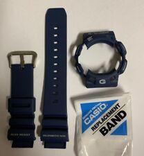 Casio  G-shock Original  Band  G-9100-2 G-9100 Dark  Blue Strap And Bezel G9100