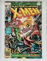 """X-Men 105 NM- (9.2) 6/77 """"The Flame, The Frenzy and Firelord!"""""""