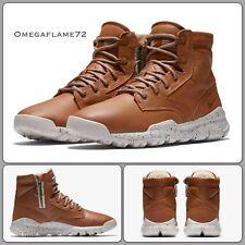 "Nike SFB 6"" NSW ""Bomber"" Cognac Leather 862506-200 UK 8 EU 42.5 US 9  ACG"