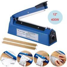 "12"" Hand Impulse Heat Sealing Plastic Sealer Foot Pedal Impulse Sealer Machine"