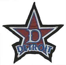 "DETROIT STARS NEGRO LEAGUE BASEBALL 6.75"" TEAM PATCH BLACK FELT"