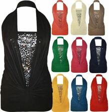 Halter Dresses for Women with Sequins