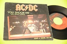 "AC DC 7"" YOU SHOOK ME ORIG FRANCIA 1980 EX !!!!!!!!!   TOOOOPPPP"