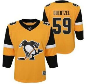 NHL Alternate 3rd Pittsburgh Penguins #59 Hockey Jersey New Youth Size MSRP $100