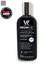 Watermans Grow Me Shampoo, 8.45 oz, #1 Hair Growth Shampoo + Can Stop Hair Loss