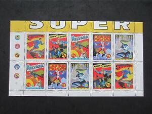 Canada mint never hinged mini sheet of 10#1583b comic book Superheros