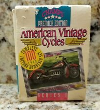 1992 Champs American Vintage Cycles Series 1 Factory Trading Card Set (100)