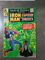 Tales of Suspense #82 FN-VG  (1966) Marvel Comics~Iron Man Captain America