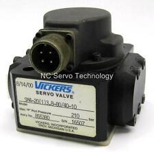 Vickers Servo Valve SM4-20(1)3.8-80/40-10 Assy. 855380 Rebuilt