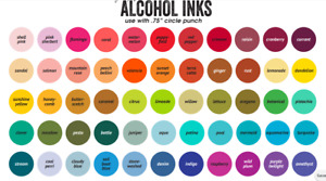 Tim holtz alcohol ink 🌈🌈New Colors Added 1/8/21