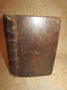 Antique Book Of Fables Nouvelles Dedie'Es Au Roy Par M. De La Motte -1719