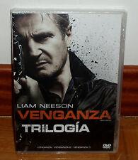 TRILOGIA VENGANZA+CONEXION EN ESTAMBUL+VENGANZA 3 NUEVO PRECINTADO 3 DVD R2