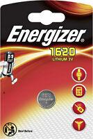 1x Energizer Lithium Mini Batterie CR1620 3V Knopfzelle (Blister)