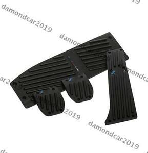 Aluminum Alloy Foot Pedal Pads For E30 E36 E46 E87 E90 E91 E92 E93 M3 DN