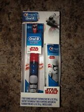 Oral-B Star Wars Powered Toothbrush Kids + Crest toothpaste. Stormtroopers