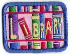 Girl Boy Cub Library Pink Tour Visit Fun Patches Crests Badges Scouts Guides