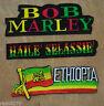 Bob Marley Haile Selassie Äthiopien Rasta Aufnäher aufbügeln Jacke Aufnäher NEU