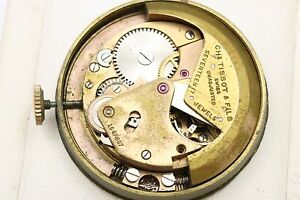 Tissot Bumper Automatic Swiss CHs TISSOT & FILS Mechanical Parts Watch Movement