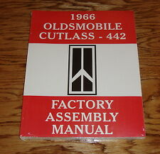 1966 Oldsmobile Cutlass 442 Factory Assembly Manual 66