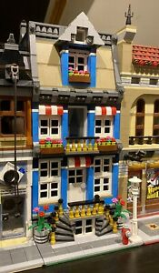 Lego Custom Modular Building Town House fits with 10251 10246 10197 city MOC 602