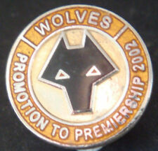 Wolverhampton Wanderers Championship Clubs Football Badges & Pins