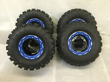 "DWT G3 Beadlock Rims GBC XC Master Tires 22"" Front/Rear Kit Yamaha Banshee YFZ45"