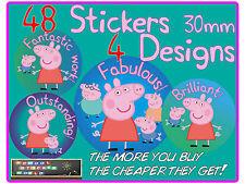 48  School Teacher Reward Stickers 30mm Behaviour Well Done Good Work
