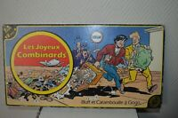 JEU LES JOYEUX COMBINARDS  VINTAGE 1986 HABOURDIN GAME BOARD COMPLET