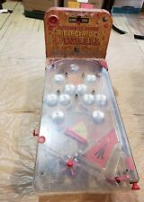 Vintage Automatic Score Electric Pinball Deluxe Arcade Type Metal Bagatelle Game