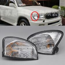 2 Corner Indicator Light with bulb For Toyota Landcruiser 98-05 100 series 99 00