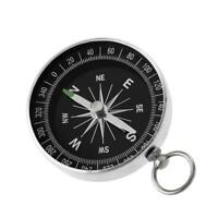 Portable G44-2 Outdoor Aluminum Camping Compass Keychain For Presents Gift G1E5