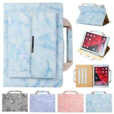 "Leather Stand Marble Bag Case Cover For iPad Air Pro 9.7"" 10.2"" 7th 2019/18 Mini"