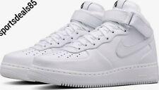 Nike Nikelab Air Force 1 Mid (White) UK Size 12 EU 47.5  US 13  819677 100