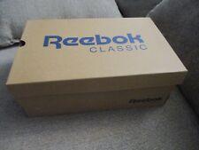 New Reebok Classic 10.5 Team Navy/Platinum Men's Nylon Sneakers!